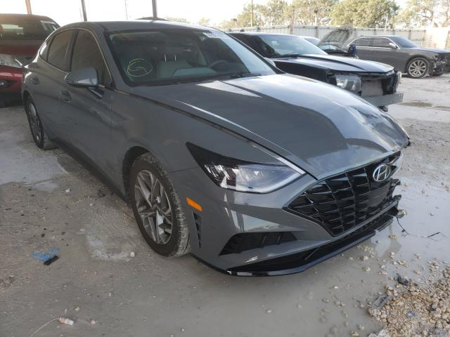 Salvage cars for sale from Copart Homestead, FL: 2021 Hyundai Sonata SEL