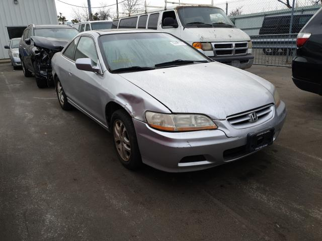 Salvage cars for sale from Copart Brookhaven, NY: 2002 Honda Accord EX