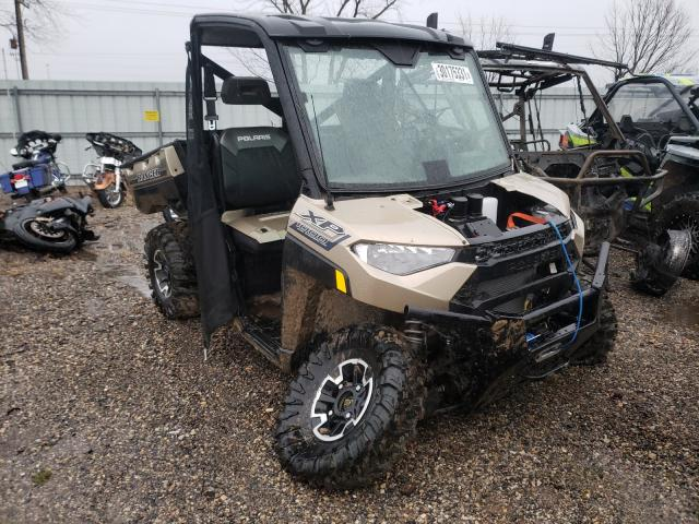 Salvage cars for sale from Copart Pekin, IL: 2020 Polaris Ranger XP