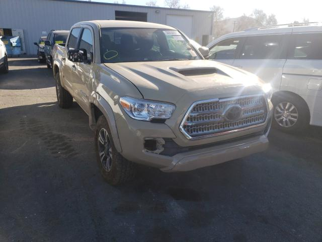 Salvage cars for sale from Copart Colton, CA: 2019 Toyota Tacoma