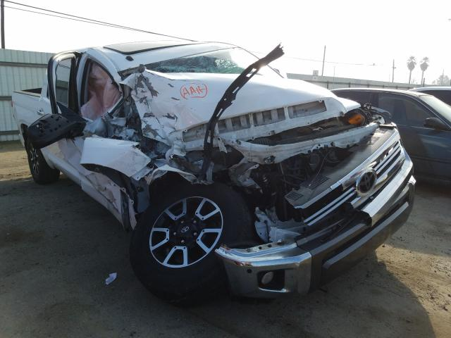 Salvage cars for sale from Copart Fresno, CA: 2016 Toyota Tundra CRE