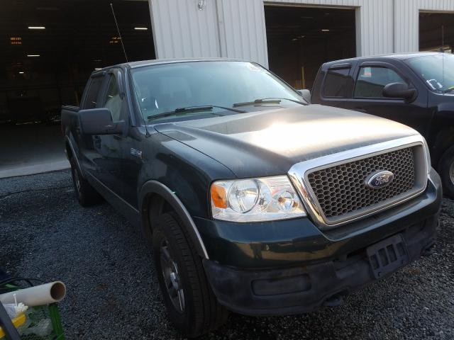 Salvage cars for sale from Copart Jacksonville, FL: 2005 Ford F150 Super