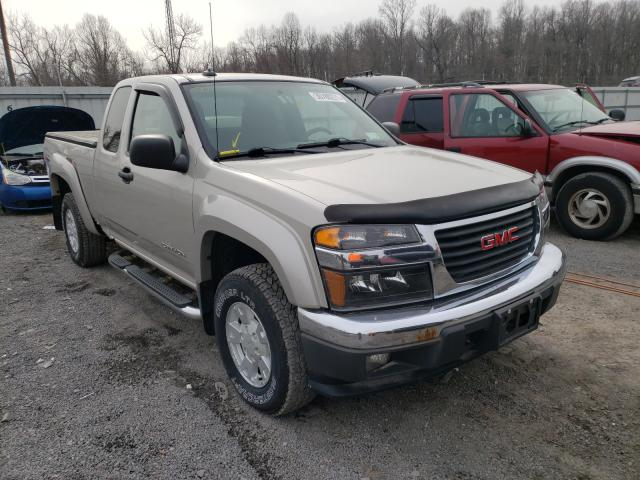 Salvage cars for sale from Copart York Haven, PA: 2005 GMC Canyon