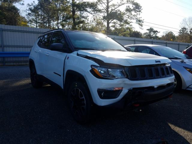 Salvage cars for sale from Copart Eight Mile, AL: 2020 Jeep Compass TR
