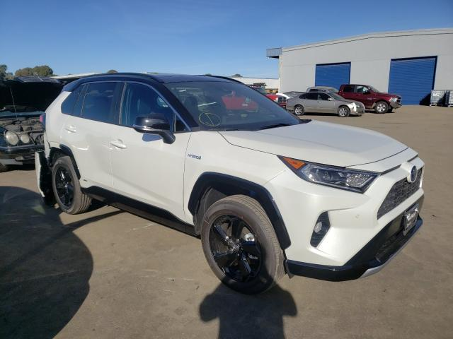 Salvage cars for sale from Copart Hayward, CA: 2021 Toyota Rav4 XSE