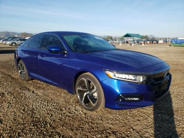 Salvage cars for sale from Copart San Martin, CA: 2019 Honda Accord Sport