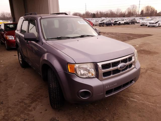 Ford Escape XLS salvage cars for sale: 2008 Ford Escape XLS