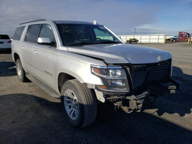 Chevrolet Suburban K salvage cars for sale: 2018 Chevrolet Suburban K