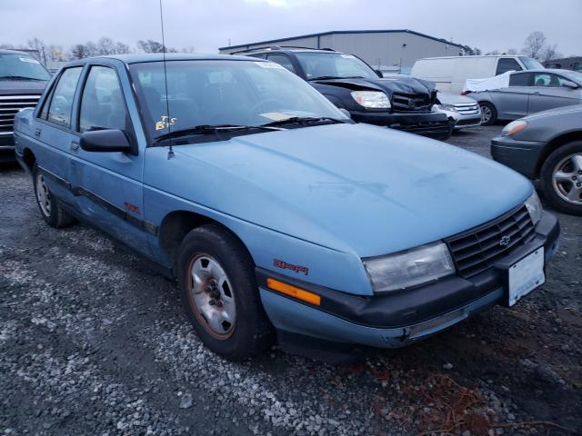 Chevrolet Corsica salvage cars for sale: 1991 Chevrolet Corsica