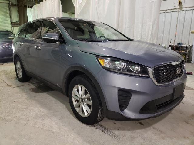 Salvage cars for sale from Copart Leroy, NY: 2020 KIA Sorento S