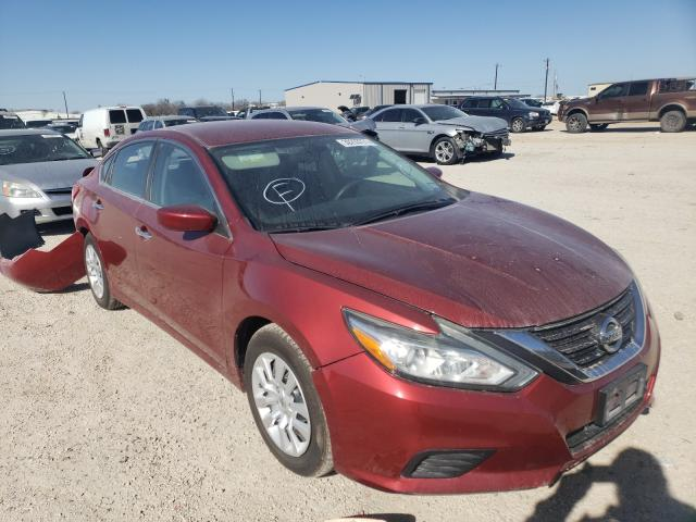 Salvage cars for sale from Copart San Antonio, TX: 2016 Nissan Altima 2.5