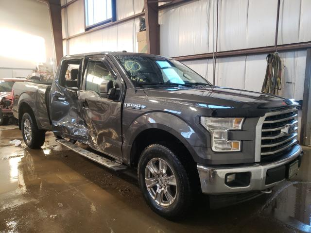 Salvage cars for sale from Copart Nisku, AB: 2017 Ford F150 Super