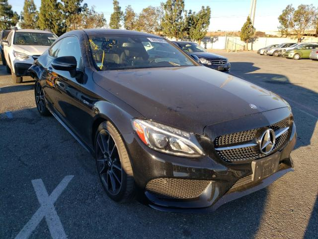 Salvage cars for sale from Copart Rancho Cucamonga, CA: 2017 Mercedes-Benz C 43 4matic