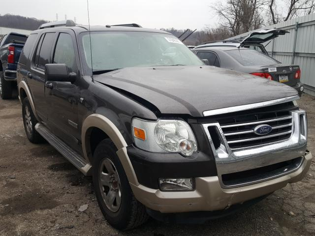 Salvage cars for sale from Copart West Mifflin, PA: 2007 Ford Explorer E