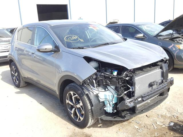 Salvage cars for sale from Copart Apopka, FL: 2021 KIA Sportage L