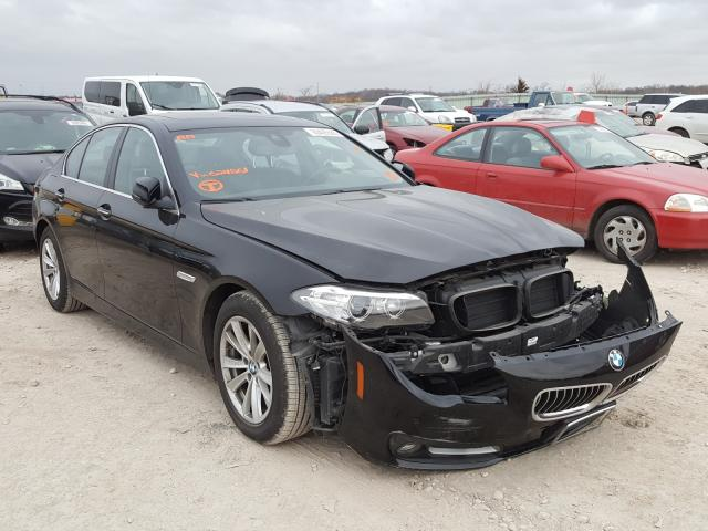 Salvage cars for sale from Copart Kansas City, KS: 2015 BMW 528 XI
