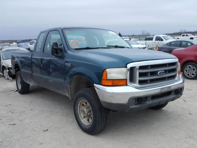 Salvage cars for sale from Copart Kansas City, KS: 2000 Ford F250 Super