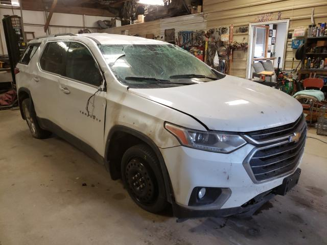 Salvage cars for sale from Copart Billings, MT: 2018 Chevrolet Traverse L