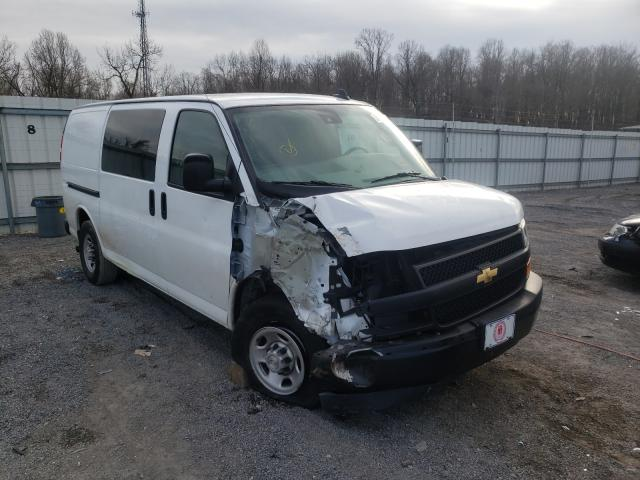 Salvage cars for sale from Copart York Haven, PA: 2019 Chevrolet Express G2