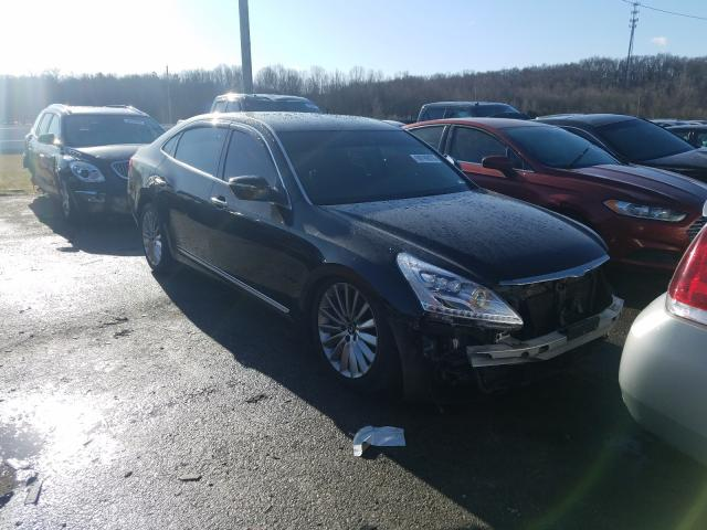 Salvage cars for sale from Copart Lawrenceburg, KY: 2014 Hyundai Equus Sign