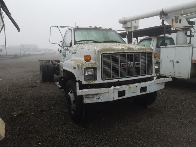 Salvage cars for sale from Copart Vallejo, CA: 1996 GMC Topkick C7