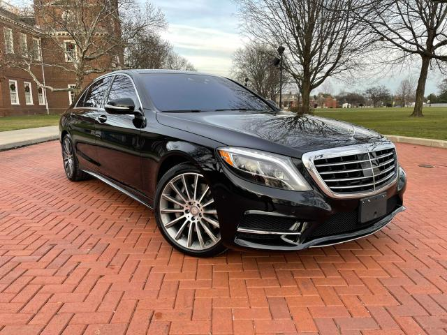 Mercedes-Benz S 550 4matic salvage cars for sale: 2017 Mercedes-Benz S 550 4matic