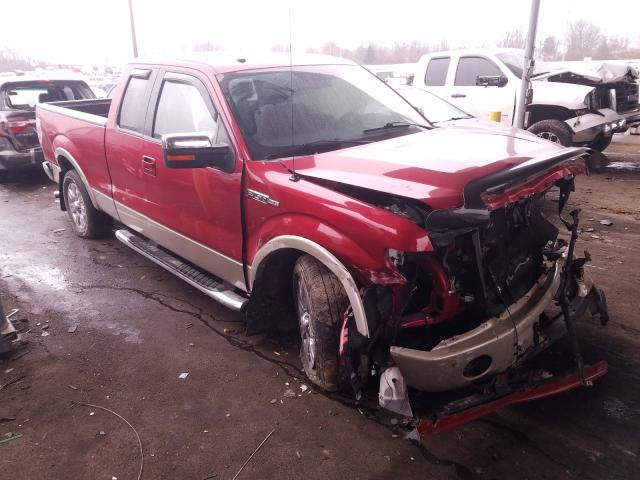 Salvage 2009 FORD F150 - Small image. Lot 29779381