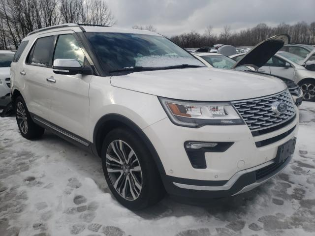 Salvage cars for sale from Copart Cudahy, WI: 2018 Ford Explorer P