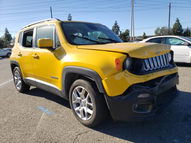 Salvage 2018 JEEP RENEGADE - Small image. Lot 30177631