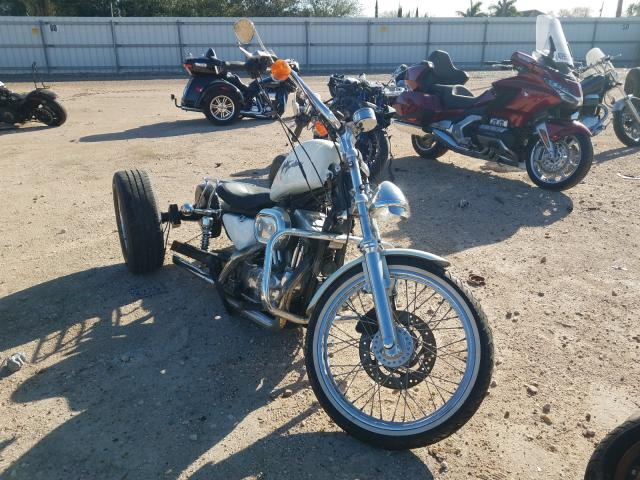 Salvage cars for sale from Copart Mercedes, TX: 2000 Harley-Davidson XL883 C
