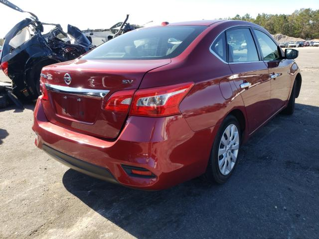 2017 NISSAN SENTRA S - Right Rear View