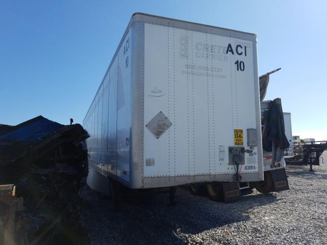 Wabash salvage cars for sale: 2010 Wabash 53 Trailer