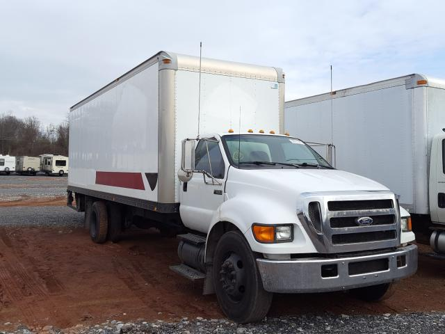 Salvage cars for sale from Copart York Haven, PA: 2004 Ford F650 Super