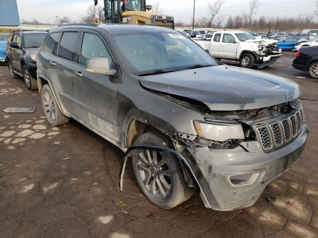 Salvage cars for sale from Copart Woodhaven, MI: 2016 Jeep Grand Cherokee