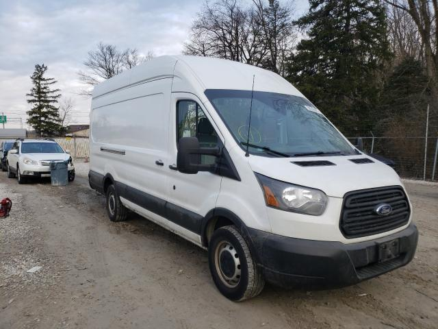 Salvage cars for sale from Copart Northfield, OH: 2019 Ford Transit T