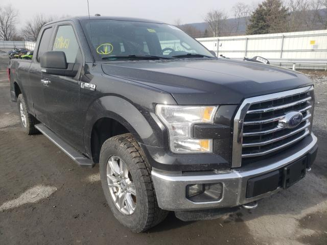 Salvage cars for sale from Copart Grantville, PA: 2015 Ford F150 Super