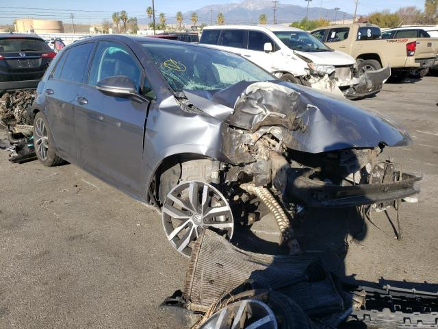 Salvage cars for sale from Copart Colton, CA: 2015 Volkswagen Golf