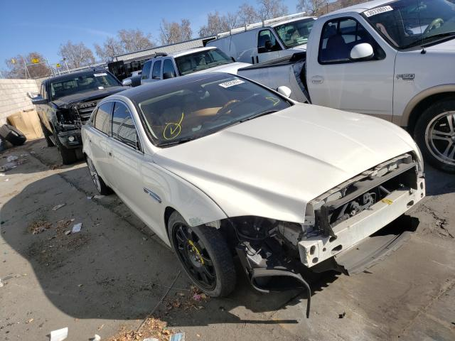 Salvage cars for sale from Copart Colton, CA: 2011 Jaguar XJL Superc