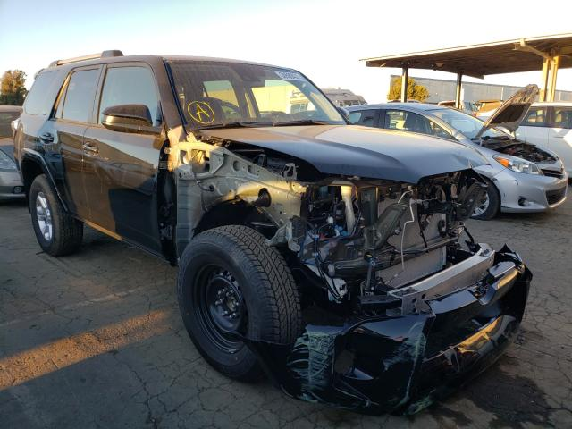 Salvage cars for sale from Copart Hayward, CA: 2021 Toyota 4runner SR