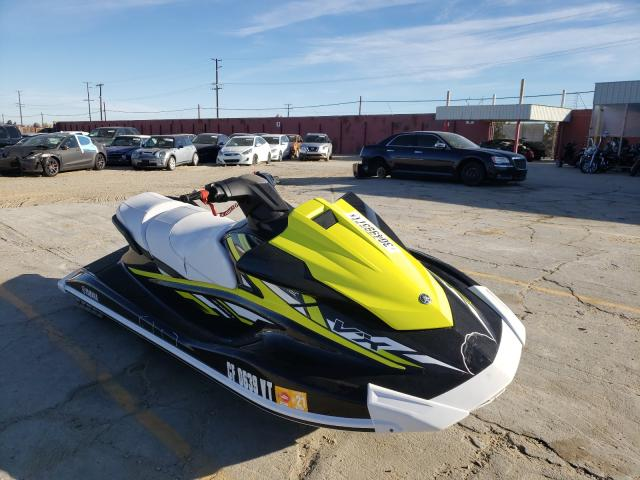 Salvage cars for sale from Copart Sun Valley, CA: 2019 Yamaha Jetski