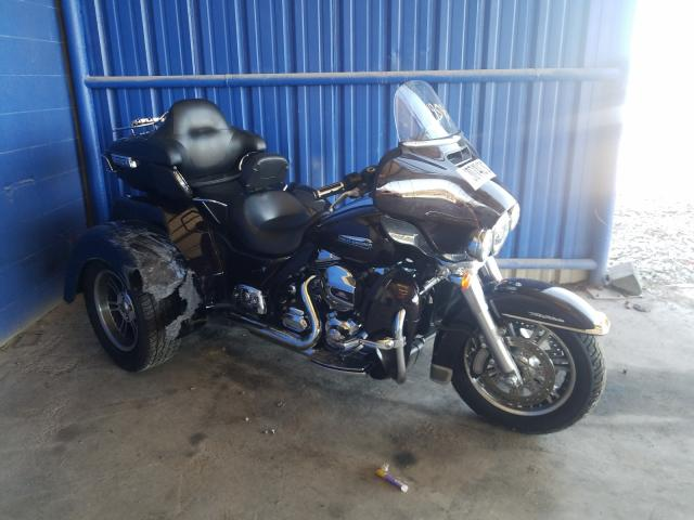 Salvage cars for sale from Copart Cartersville, GA: 2014 Harley-Davidson Flhtcutg T