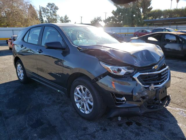 Salvage cars for sale from Copart Van Nuys, CA: 2021 Chevrolet Equinox LS