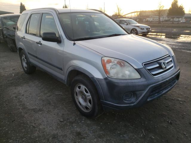 Salvage cars for sale from Copart Eugene, OR: 2006 Honda CR-V LX