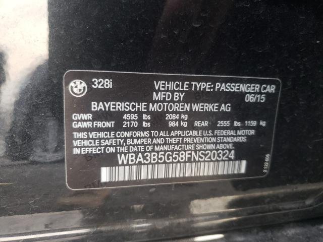 2015 BMW 328 XI SUL WBA3B5G58FNS20324