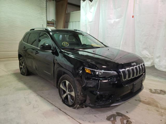 Salvage cars for sale from Copart Leroy, NY: 2019 Jeep Cherokee L