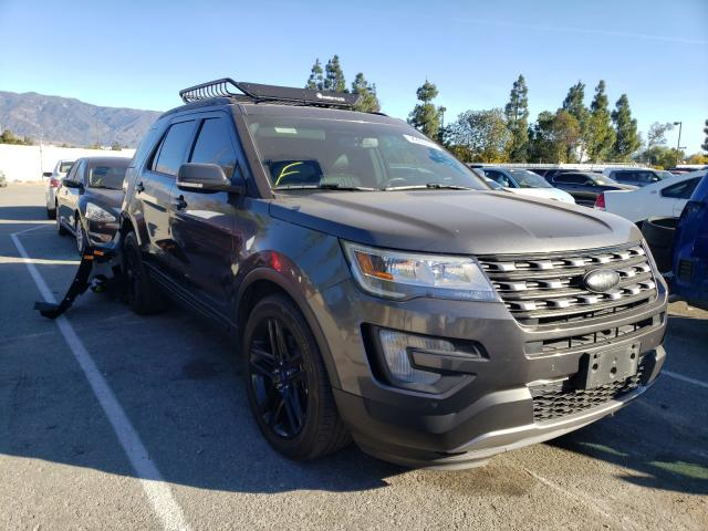 Salvage cars for sale from Copart Rancho Cucamonga, CA: 2017 Ford Explorer L