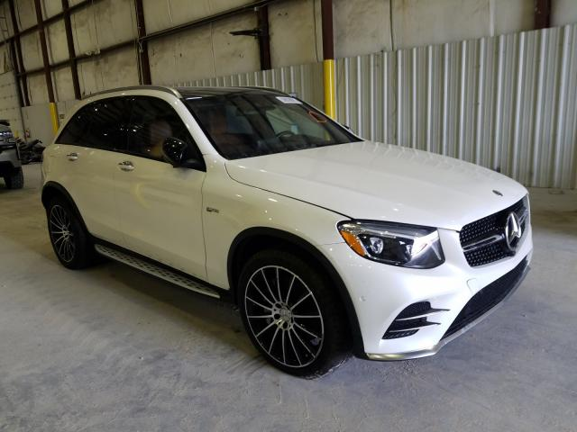 Mercedes-Benz GLC 43 4matic salvage cars for sale: 2018 Mercedes-Benz GLC 43 4matic