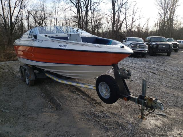 Bayliner salvage cars for sale: 1988 Bayliner Capri