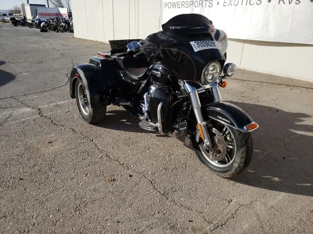 Salvage cars for sale from Copart Anthony, TX: 2015 Harley-Davidson Flhtcutg T