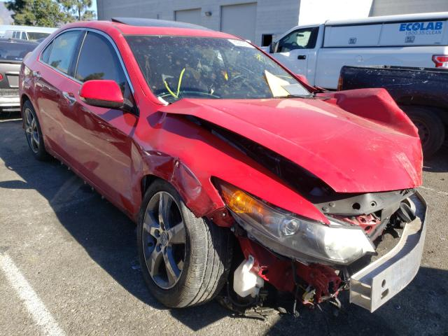 Salvage cars for sale from Copart Rancho Cucamonga, CA: 2013 Acura TSX SE